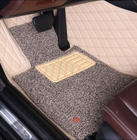 Custom fit car floor mats for Porsche Macan GTS Cayenne Cayman Panamera car styling all weather protection luxury carpet liners