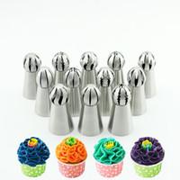 ingrosso rivestimento in acciaio inossidabile-Forma rotonda calda In acciaio inox Muffin Cupcake Mould Case Bakeware Maker Mold Vassoio Cottura Cup Liner Stampi per la cottura IB642