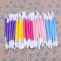 Wholesale clay model tools resale online - Carving Sugar Tool Detachable Head Plasticity Modification Carved Pens Clay Fondant Cake Modelling Tools Hot Sale by gg
