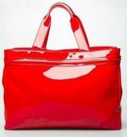 ingrosso borsa del progettista della borsa della signora-la borsa di spiaggia della signora di modo delle donne della pelle verniciata del progettista speciale della borsa di marca nuova libera il trasporto