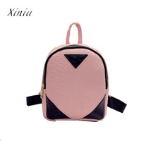 Wholesale free school book bags resale online - Women Canvas Rucksack concise Serpentine Backpack School Book Shoulder Bag Top Quality Women Backpacks Free Shippig