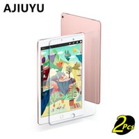 Wholesale ipad protection cases - AJIUYU For iPad Pro 9.7 inch glass Pro9.7 Tempered Glass membrane Steel film iPadPro 9.7 Screen Protection Toughened Case