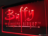 Wholesale vampire decorations - LC137w- Buffy the Vampire Slayer Movie LED Neon Light Sign