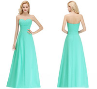 Wholesale cheap custom wedding dresses online - Sexy Real Photos Turquoise New Arrival Cheap Bridesmaid Dresses Sweetheart Zipper Back Wedding Guest Prom Evening Wear Dress BM0051