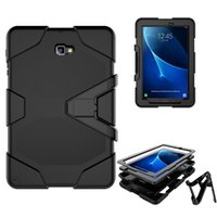 Wholesale galaxy tab military case for sale - For Samsung GALAXY Tab A quot T580 P580 T590 Armor Case Shock Drop Proof Hybrid Impact Military Defender Protective Cover DHL free