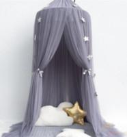 böcek gölgelik toptan satış-Zarif çocuk Cibinlik Fantasy Beşik Canopy Hamak Böcek Isırık Yatak Asılı Ön Dome Ev Yatak Önlemek