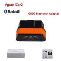 lector de código ford escáner al por mayor-Vgate iCar2 ELM 327 V2.1 OBD2 Adaptador Bluetooth Escáner OBD Automático Lector de Código de Coche Herramienta de Análisis de Diagnóstico Universal ODB ODB2 OBDII