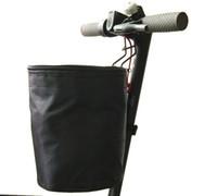 pièces de poignée de sac achat en gros de-Pièces détachées, sac avant EVA + Support téléphone + Panier + Sac de manutention avec 3 roues + éclairage LED + Autocollant pour pédale + miroir pour scooter mijia eletric
