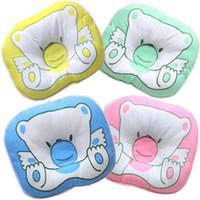 ingrosso cuscini svegli dell'orso-Simpatico orsetto per neonato Cuscino di forma a forma di cartone animato con cuscino per giradischi 24 * 18 cm