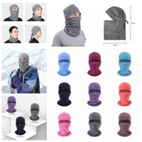 Wholesale tactical beanies resale online - 9styles Winter mask cycling warm Hat Thicker Barakra motorcycle windproof Skiing dust outdoor sports head sets Tactical mask FFA1273