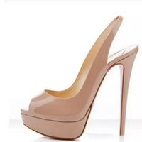 Wholesale Shiny Red High Heel Shoes - Buy Cheap Shiny Red High Heel ... facea2bff96f