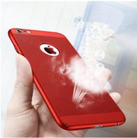 Wholesale mesh cell phone case for sale – best 2018 luxury matte Mesh Heat Dissipation Hollow Breathable Slim Armor Hard PC Back Cover Cell phone Case For iPhone XS MAX XR X Plus