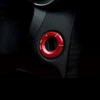 mercedes benz trim venda por atacado-Estilo do carro Interruptor de Ignição tampa guarnição chave Anel Buraco Círculo Adesivos para Mercedes Benz A Classe C GLA CLA GLC W205 W212 X253 C117 Acessórios