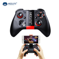 Wholesale gamepad remote vr - Mocute Bluetooth Gamepad Crystal Button Android Joystick PC Wireless Remote Controller Game Pad for Smartphone for VR TV BOX