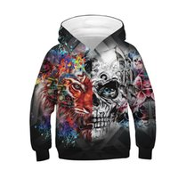 Hoodies Sweatshirt/Men 3D Print Wolf,Flowers Feathers Husky,Sweatshirts for Teen Girls