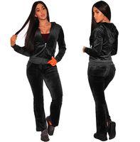 c795eda43bc NZ  38.30 · TWO PIECE SET Tracksuit Plus Size Joggers Pants Track Suits  Leisure Sweatsuits For Women Clothing Costumes Autumn ...