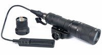 Wholesale tactical flashlight for picatinny rail for sale - Group buy M300V Tactical Flashlight Light With Constant Strobe momentary Output Torch For mm Picatinny Rail