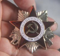 Wholesale 2pcs Packages mailed commercial version Medal of the Soviet union patriotic war chapter The Soviet war MEDALS of Russia