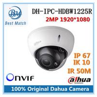 Wholesale Onvif Dome - Original Dahua DH-IPC-HDBW1225R Full HD 2MP Network Vandal-proof Dome IP Camera IR distance 50m Support Onvif IPC-HDBW1225R