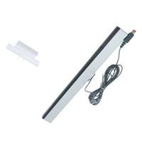 infrared ray sensörü toptan satış-200 adetgrup toptancı için Kablolu Kızılötesi IR Sinyal Ray Sensörü Bar / Alıcı Wii Uzaktan
