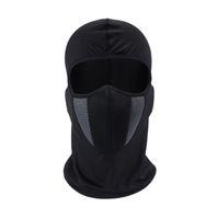 máscara de esquí bandana al por mayor-HEROBIKER Pasamontañas, motocicleta, mascarilla, casco, bandana, capucha, esquí, cuello, mascarilla completa, a prueba de viento, a prueba de polvo, protector de cara (al por menor)