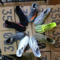Wholesale Shoes Online - 2018(Double Boxes) SPLY 350 Boost V2 Semi Frozen Yellow Belgua 2.0 Wholesale Discount Cheap Kanye West Online Shoes Basketball Running Shoes