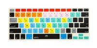 teclado macbook a1278 venda por atacado-Para iphone imac, Macbook Pro 15 KC (2 pcs) Teclas de atalho A1278 Ableton Live Cover Film A1278