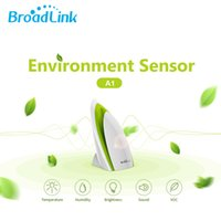 Wholesale Automation Testing - Broadlink A1 E-Air Air Quality Detector Filter Testing Air Humidity PM2.5 Remote Control by WIFI Infrared Home Automation System