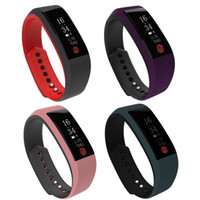 Wholesale bits pieces online - single piece Smart Band W808S Bracelet Wristband Heart Rate Monitor quot OLED Waterproof IP67 Smartband PK fit bit mi band For iPhone