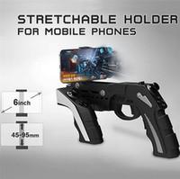 ipega controlador android para pc venda por atacado-Ipega pg-9057 joystick android controlador de jogo sem fio bluetooth gun joystick para telefone / para almofada / telefone android tablet pc