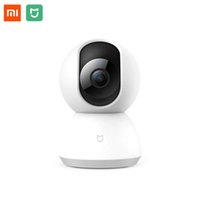 Wholesale intelligent ip - Xiaomi Mijia Smart IP Camera 110 Degree 1080P PAN TILT Upgraded Version Wifi connection intelligent Security For Mi Home App