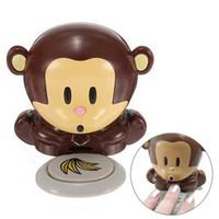 kleine affen großhandel-Neueste kleine nette Affe-Nagel-Trockner-Werkzeuge, die den Affe-Nagel-kreativen Hilfstrockner-Nagellack durchbrennen
