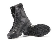 Wholesale Military C - Tactical Boots Military Combat Boots Army black mens boots Breathable Wearable with high quality AirBorne Boot