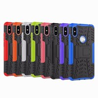 Wholesale hard plastic tire for sale - Dazzle Hybrid Case For Huawei Y5 Y6 Y9 Honor Xiaomi X Redmi S2 One Plus ShockProof Defender Rugged Hard PC TPU Cover Tire Coque