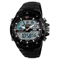 reloj análogo de alarma múltiple al por mayor-Top Brand Luxury Fashion Reloj analógico-digital a prueba de agua Multi Function LED reloj deportivo Digital Alarm Time Zone