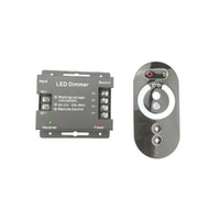 interruptor de atenuador de led remoto rf al por mayor-Touch RF Remote Controller 12V 24V para tira de LED Bombilla Brillo ajustable 6A X 3CH 12 voltios Dimmer Switch CE ROSH 2 años de garantía