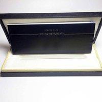 Wholesale Wood Pen Box Case - luxury Marker M Brand pen Box with The papers Manual book , Pen box for mb pen , wood box