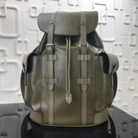 Wholesale Black Genuine Leather Backpack - 2017 Men Outdoor Backpack Bag Brand Hague adjustable backpack straps presbyopic cortex N41379