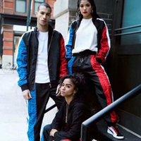 beyzbol ceketleri spor giyim toptan satış-18FW Pumcm Hummer Ortak Adı Sınırlı Ceket Spor Beyzbol Takım Elbise Adam Ve Kadınlar Çift Yüksek Kalite Moda Ceket HFWPTZ005