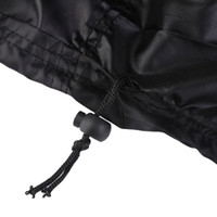 Wholesale patios covers resale online - PREUP Black Outdoor BBQ Gas Grill Cover Inch Waterproof Anti Heavy Dust Cover Outdoor Rain Grill Anti Dust For Patio Protect