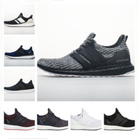 d1d6a6c22128a Ultra Boost 4.0 Running Shoes Show Your Stripes Breast Cancer Awareness CNY  Black Multi Color Men Womens Real Boost Sneakers Size 36-48