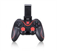 Wholesale force feedback games - S3 X3 Retractable Wireless Bluetooth Gamepad Game Controller Smart Phone Game Controller Wireless Joystick Bluetooth With Holder