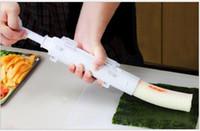 acessórios de cozinha fabricante de rolo de sushi venda por atacado-Welford Roller Sushi maker Rolo Mould Fazendo Kit de Sushi Bazuca Arroz Carnes Legumes DIY Fazendo Cozinha Ferramentas Gadgets Acessórios