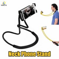 Wholesale purple blue bedding for sale - Lazy Bracket Universal Degree Rotation Flexible Phone Selfie Holder Snake like Neck Bed Mount Anti skid For iPhone Android