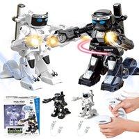 roboterprogramm großhandel-RC Robot Intelligente Programmierung Fernbedienung Robotica Spielzeug Biped Humanoid Robot für Kinder Kinder Geburtstagsgeschenk vorhanden