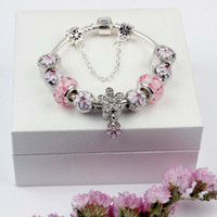 ingrosso fascino di pesca argento-Magnolia Bracciale in argento 925 Bracciali in argento 925 Bracciale in argento 925