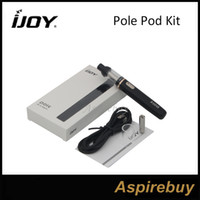 Wholesale pole buildings resale online - IJOY Pole Pod Kit All in One Kit Build in mAh Pole Pod Battery Max Output W Top airflow MTL Atomizer with Ceramic Coil Compact Portable