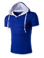 мужские рубашки оптовых-Новый Стиль Плюс Размер Рубашки Мужчины С Коротким Рукавом Мода Лето Рубашка Мужчины Даже Cap Camisa Masculina