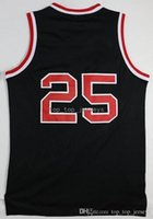 Wholesale blazers free shipping - Newest 25 Krsey Blazers Jersey Men For Sport Fans Krsey Blazers Shirt Uniform Home Black Pure Cotton Breathable Fast Free Shipping