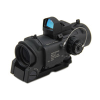 Wholesale optics magnifier resale online - Tactical DR x Fixed Magnifier Dual Role Optic Rifle Hunting Scope x32 Illuminated Mil Dot Scope With Auto Red Dot